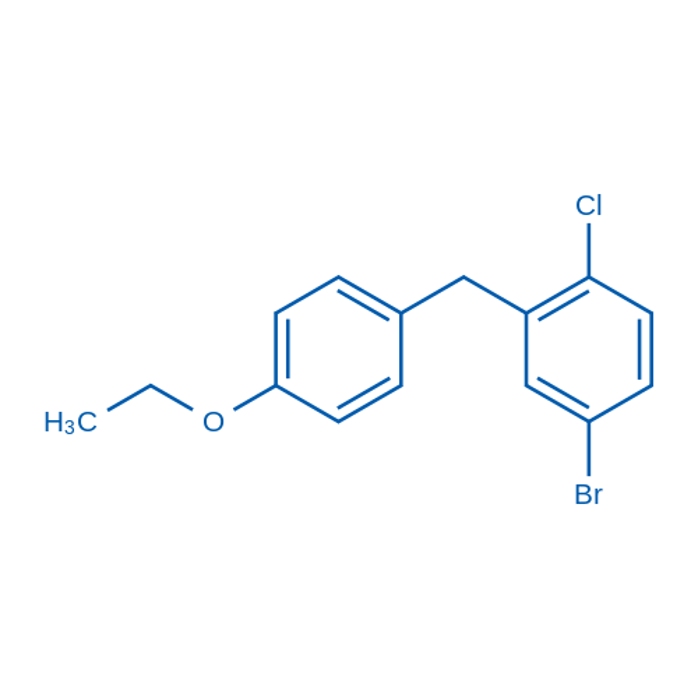 4-Bromo-1-chloro-2-(4-ethoxybenzyl)benzene