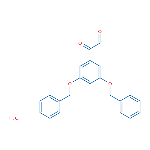 3,5-Dibenzyloxyphenylglyoxal hydrate