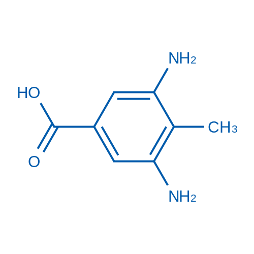 3,5-Diamino-4-methylbenzoic acid