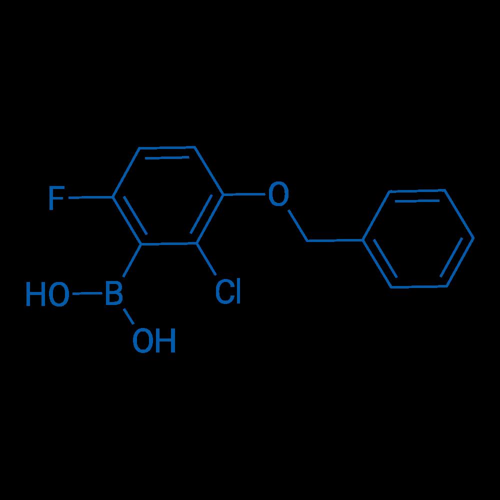 3-Benzyloxy-2-chloro-6-fluorophenylboronic acid