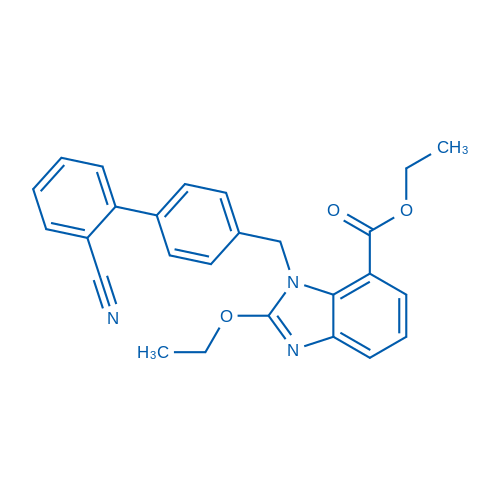 Ethyl 1-((2'-cyano-[1,1'-biphenyl]-4-yl)methyl)-2-ethoxy-1H-benzo[d]imidazole-7-carboxylate