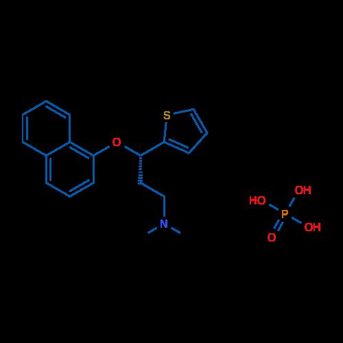(S)-N,N-Dimethyl-3-(naphthalen-1-yloxy)-3-(thiophen-2-yl)propan-1-amine phosphate