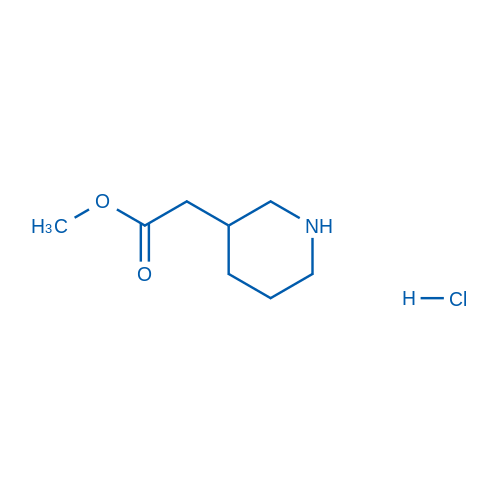 Methyl 2-(piperidin-3-yl)acetate hydrochloride