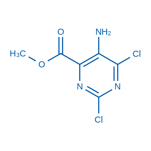 Methyl 5-amino-2,6-dichloropyrimidine-4-carboxylate