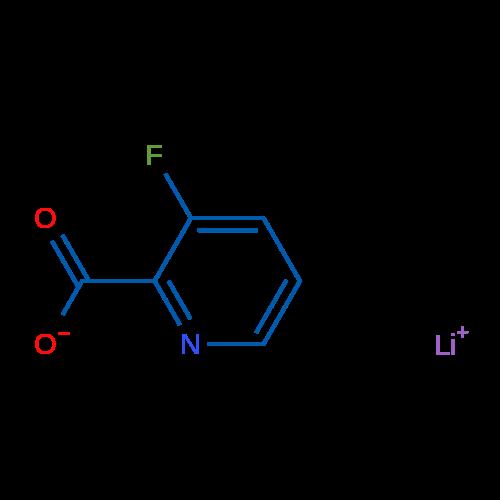 Lithium 3-fluoropicolinate