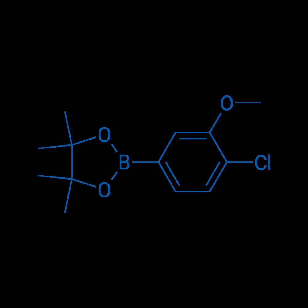 2-(4-Chloro-3-methoxyphenyl)-4,4,5,5-tetramethyl-1,3,2-dioxaborolane