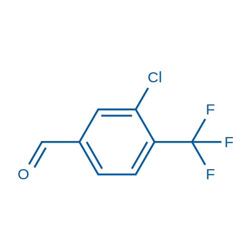 3-Chloro-4-(trifluoromethyl)benzaldehyde
