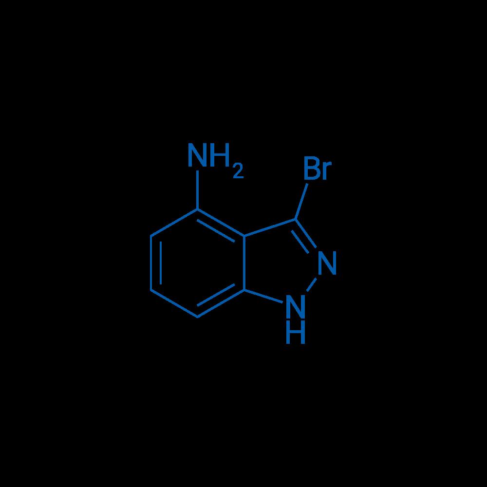3-Bromo-1H-indazol-4-amine