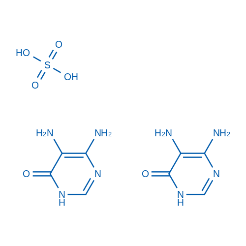 5,6-Diaminopyrimidin-4(3H)-one sulfate(2:1)