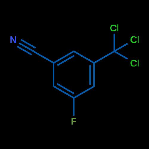 3-Fluoro-5-(trichloromethyl)benzonitrile