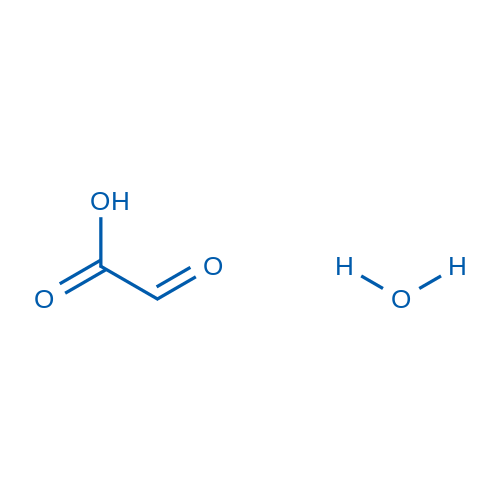 2-Oxoacetic acid hydrate