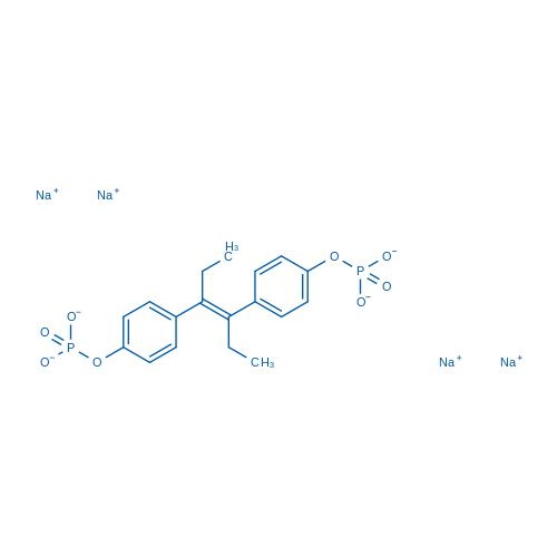 Sodium (E)-hex-3-ene-3,4-diylbis(4,1-phenylene) bis(phosphate)