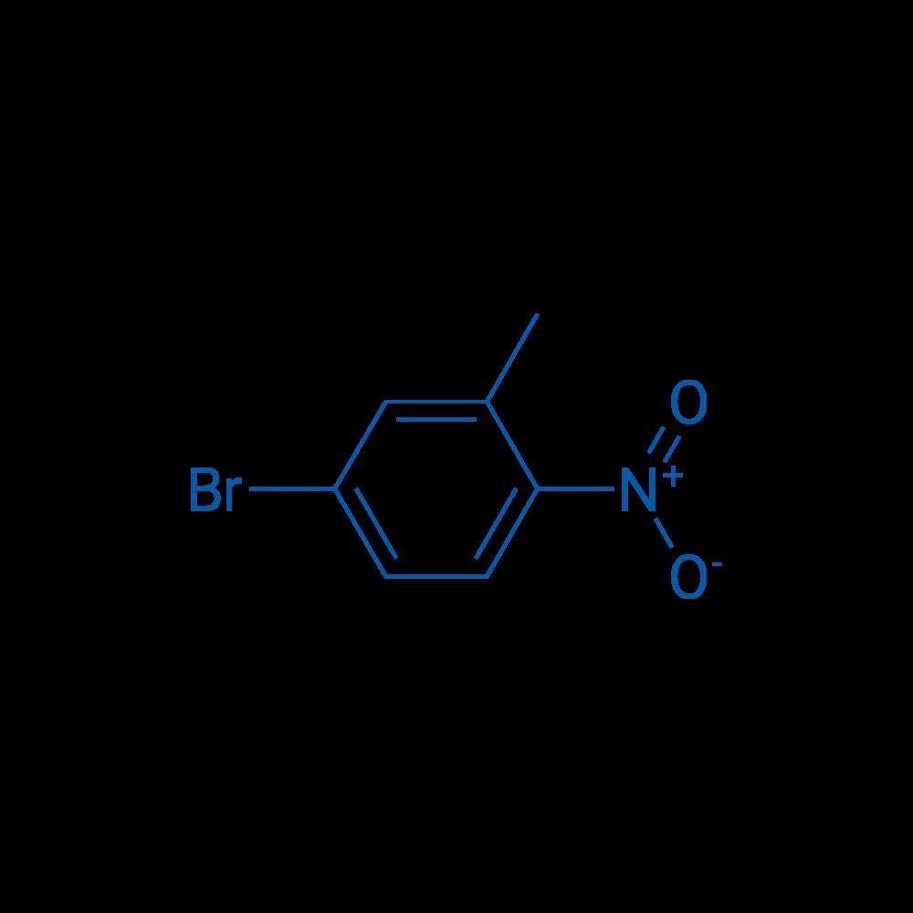 4-Bromo-2-methyl-1-nitrobenzene