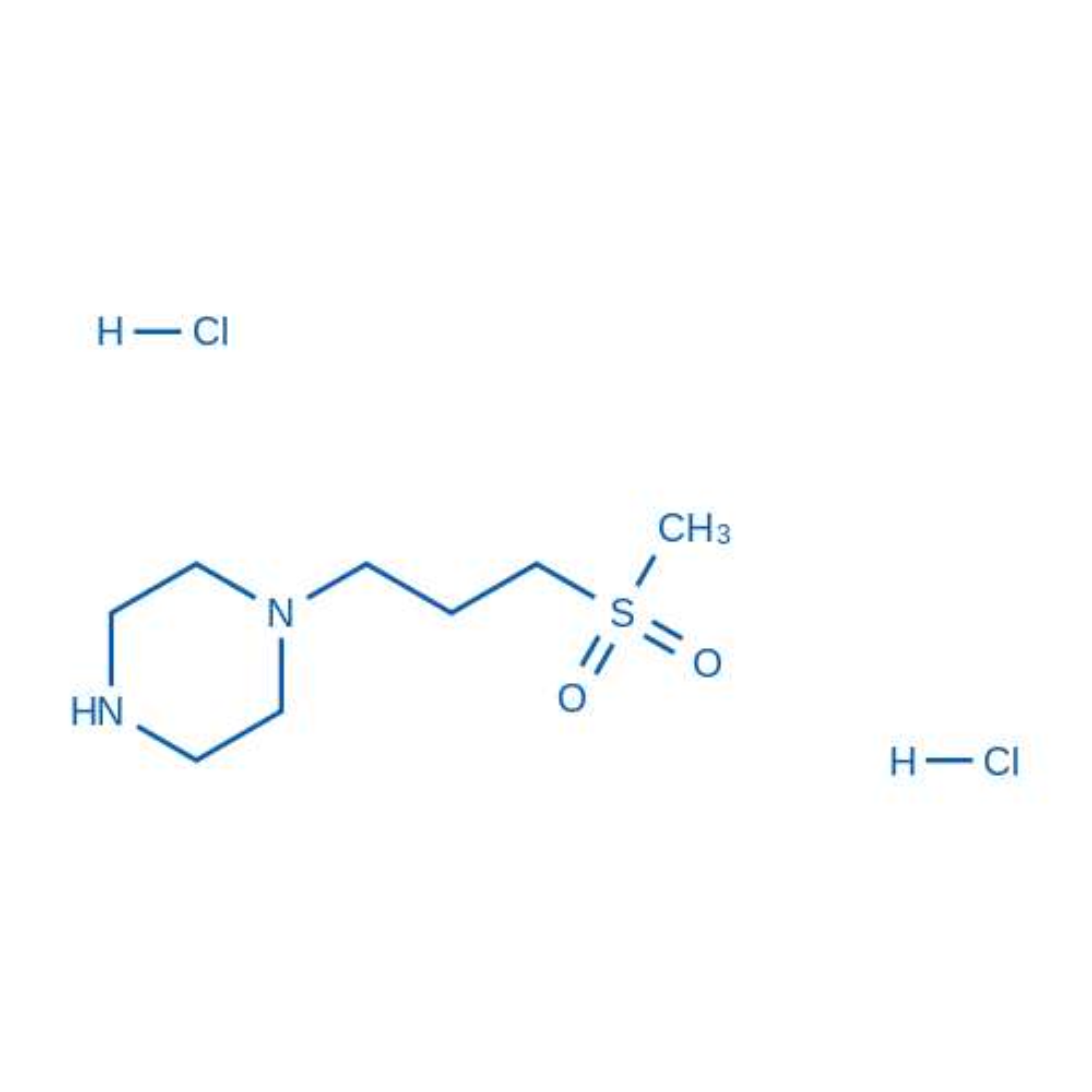 1-(3-(Methylsulfonyl)propyl)piperazine dihydrochloride
