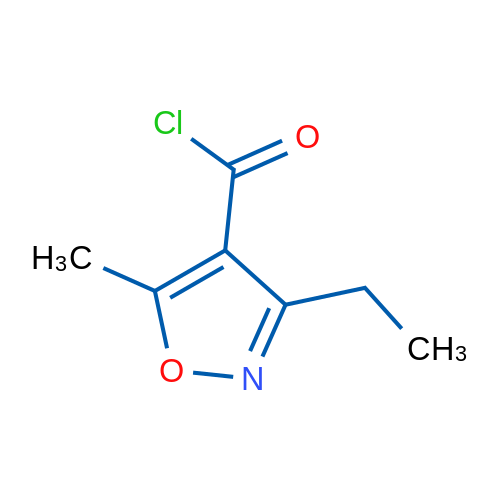 3-Ethyl-5-methylisoxazole-4-carbonyl chloride