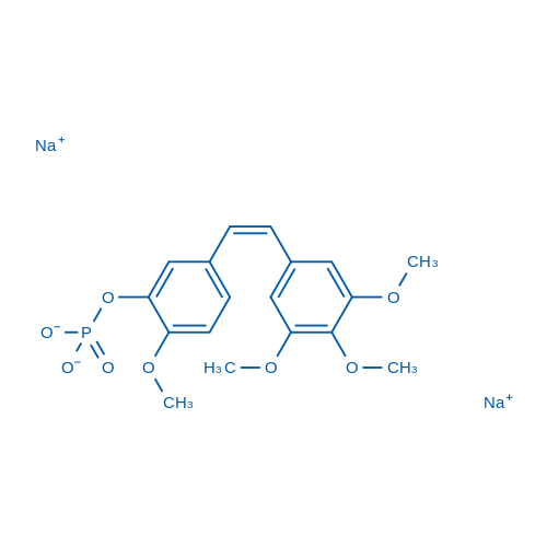 Fosbretabulin disodium