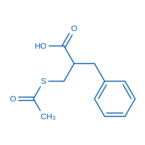 2-[(Acetylthio)methyl]-3-phenylpropionic Acid