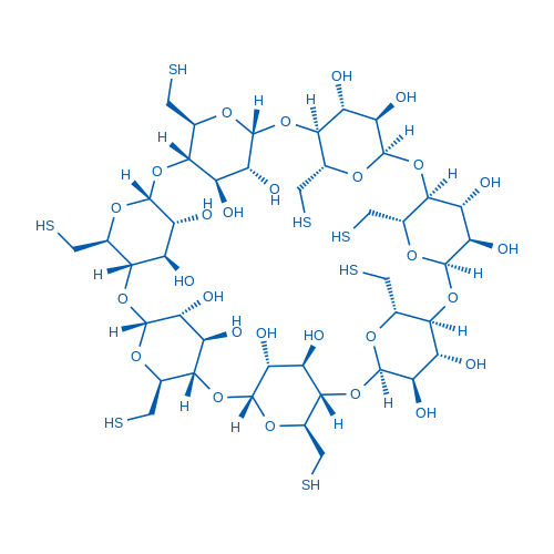 Heptakis-(6-Mercapto-6-deoxy)-β-Cyclodextrin