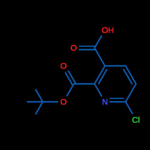 2-(tert-Butoxycarbonyl)-6-chloronicotinic acid