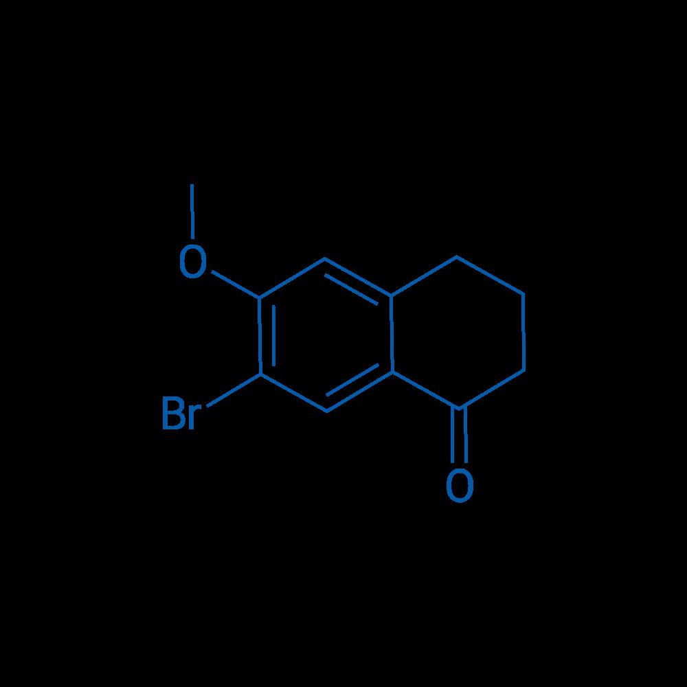 7-Bromo-6-methoxy-3,4-dihydronaphthalen-1(2H)-one
