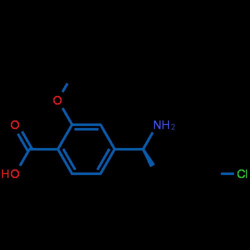 (S)-4-(1-Aminoethyl)-2-methoxybenzoic acid hydrochloride