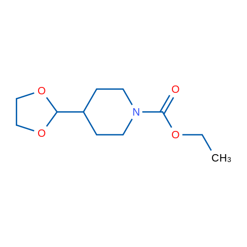 Ethyl 4-(1,3-dioxolan-2-yl)piperidine-1-carboxylate