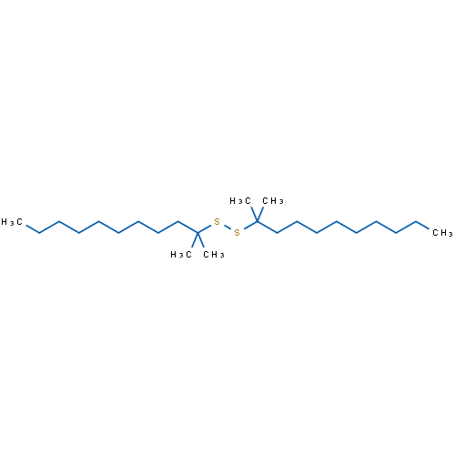 1,2-Bis(2-methylundecan-2-yl)disulfane