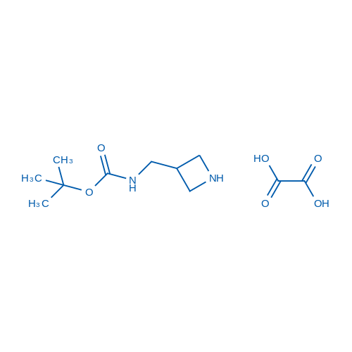 tert-Butyl (azetidin-3-ylmethyl)carbamate oxalate