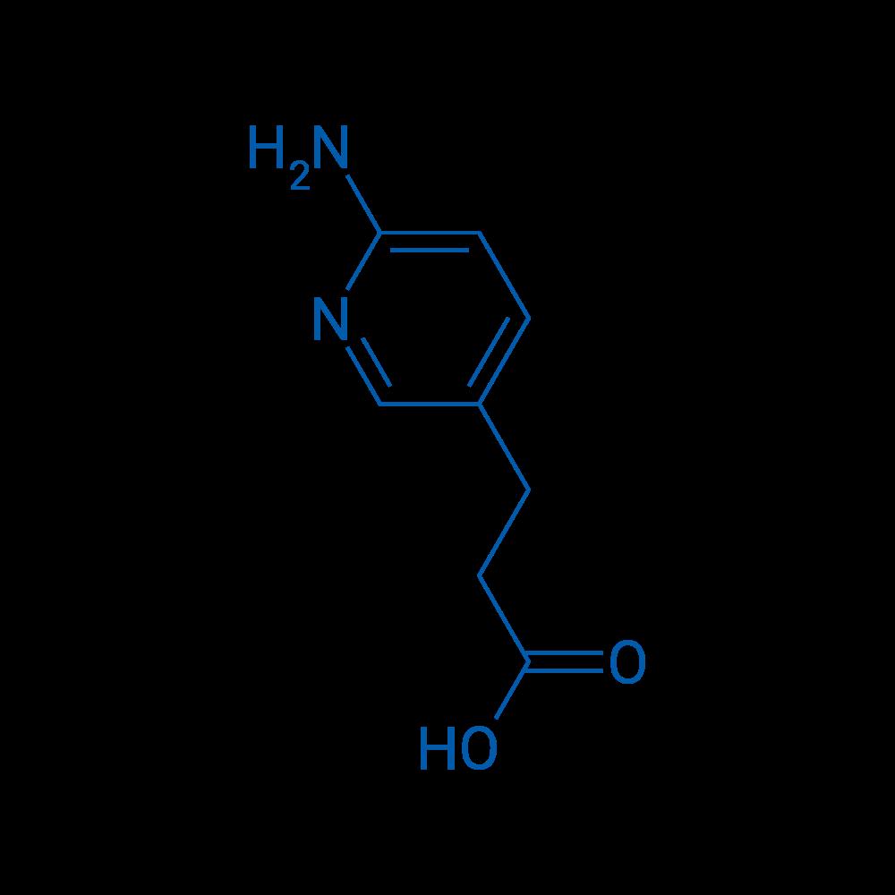 3-(6-Aminopyridin-3-yl)propanoic acid