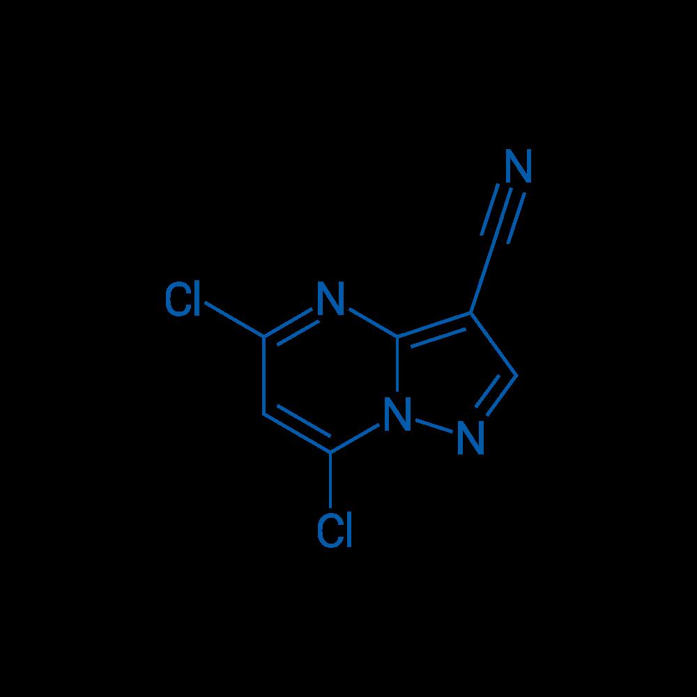 5,7-Dichloropyrazolo[1,5-a]pyrimidine-3-carbonitrile