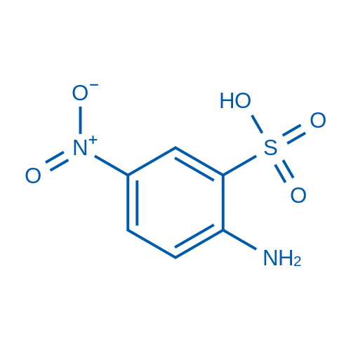 2-Amino-5-nitrobenzenesulfonic acid
