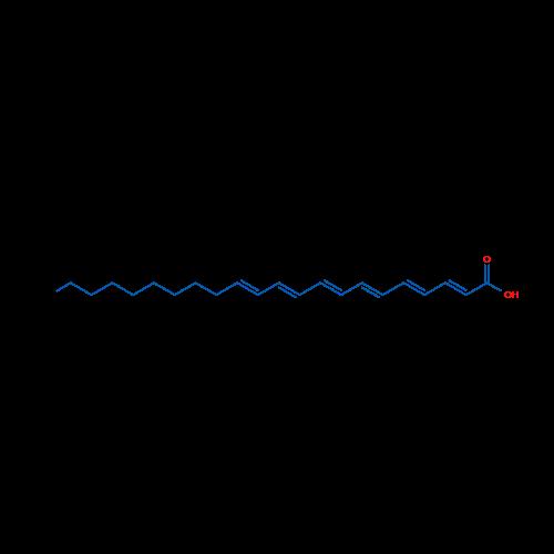 Docosa-2,4,6,8,10,12-hexaenoic acid