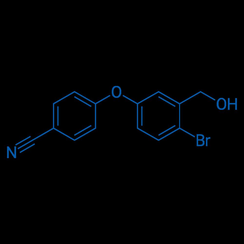 4-(4-Bromo-3-(hydroxymethyl)phenoxy)benzonitrile