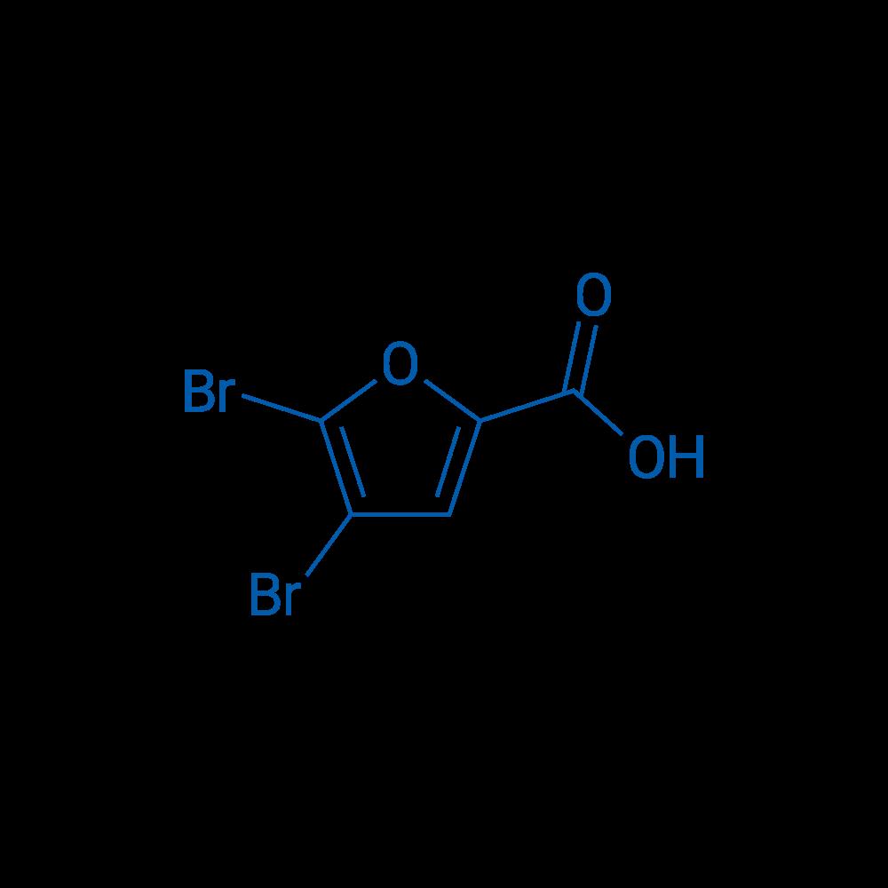 4,5-Dibromofuran-2-carboxylic acid