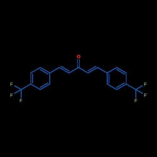 1,5-Bis(4-(trifluoromethyl)phenyl)penta-1,4-dien-3-one