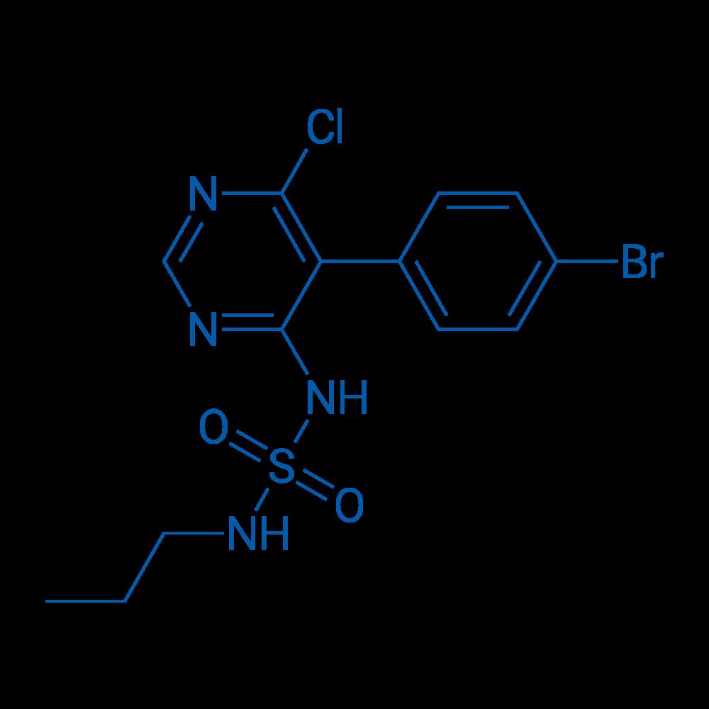 N-[5-(4-Bromophenyl)-6-chloro-4-pyrimidinyl]-N'-propylsulfamide
