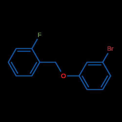 1-((3-Bromophenoxy)methyl)-2-fluorobenzene
