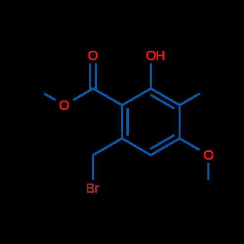 Methyl 6-(bromomethyl)-2-hydroxy-4-methoxy-3-methylbenzoate