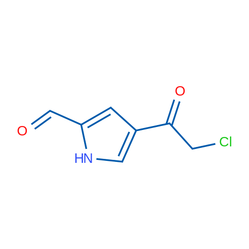 4-(2-Chloroacetyl)-1H-pyrrole-2-carbaldehyde