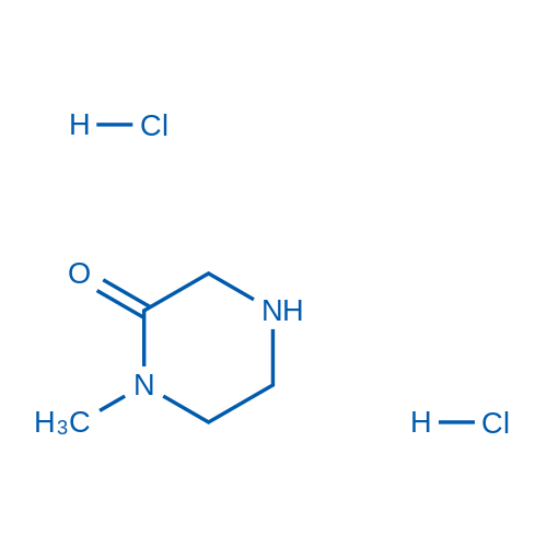 1-Methylpiperazin-2-one dihydrochloride