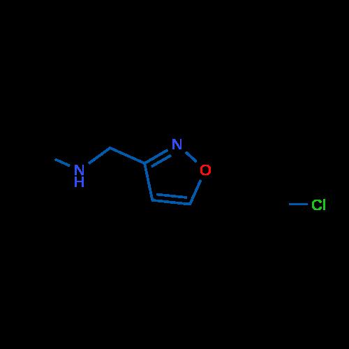 1-(Isoxazol-3-yl)-N-methylmethanamine hydrochloride