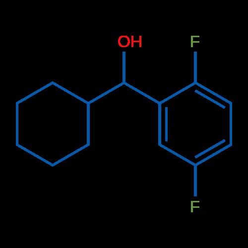 Cyclohexyl(2,5-difluorophenyl)methanol