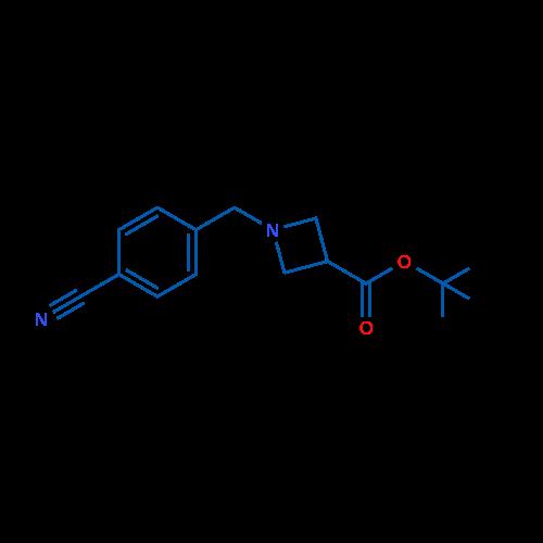 tert-Butyl 1-(4-cyanobenzyl)azetidine-3-carboxylate