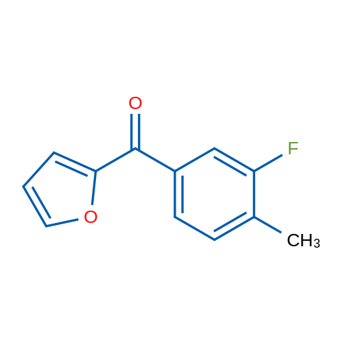 (3-Fluoro-4-methylphenyl)(furan-2-yl)methanone