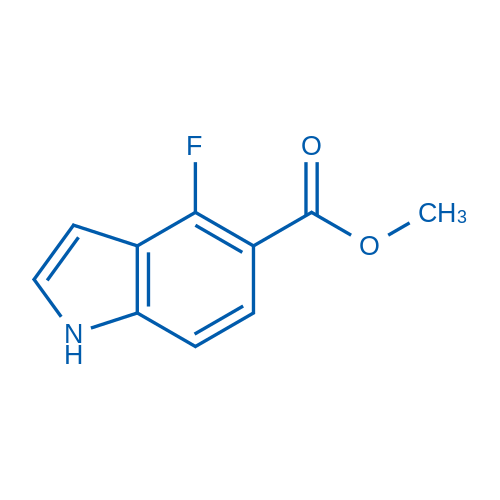 Methyl 4-fluoro-1H-indole-5-carboxylate