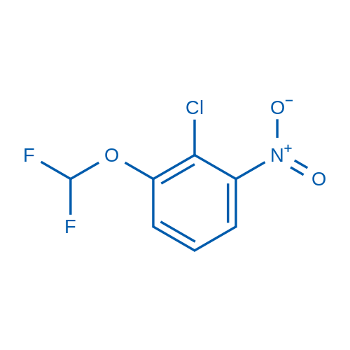 2-Chloro-1-(difluoromethoxy)-3-nitrobenzene
