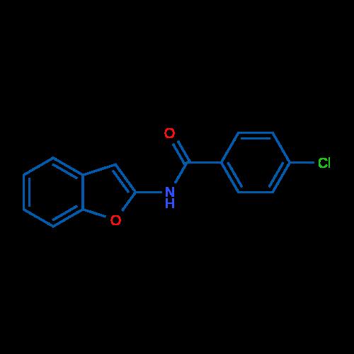 N-(Benzofuran-2-yl)-4-chlorobenzamide
