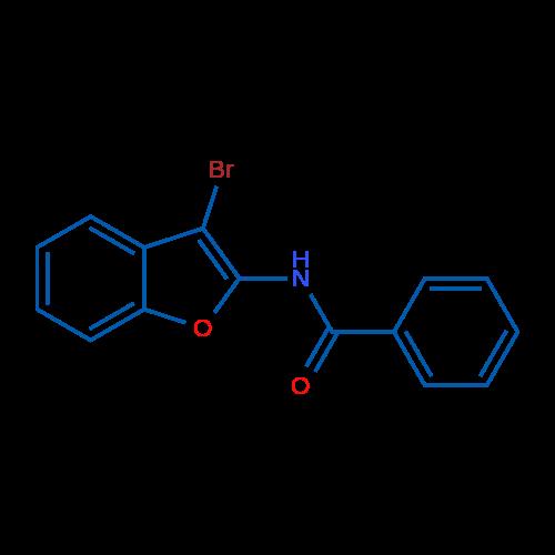 N-(3-Bromobenzofuran-2-yl)benzamide