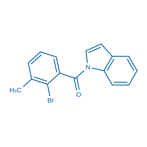 (2-Bromo-3-methylphenyl)(1H-indol-1-yl)methanone