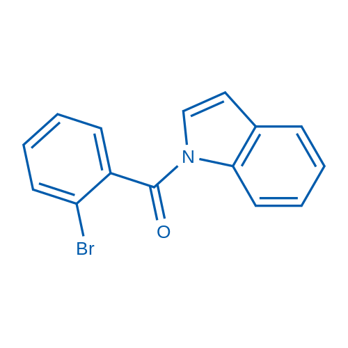 (2-Bromophenyl)(1H-indol-1-yl)methanone